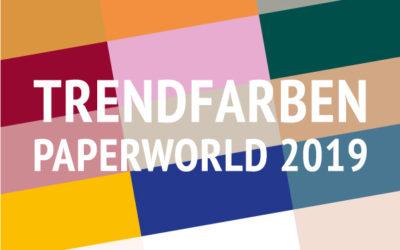 Trendkarten Paperworld und Freebie